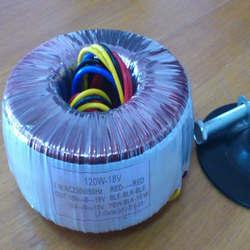 Transformadores toroidal para amplificador de áudio